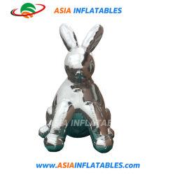 Aufblasbare Kaninchen-Modell-Spiegel-Ballon-Tierreplik-reflektierende Kugel