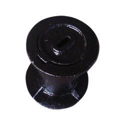 Válvula de ferro fundido dúctil Preto redonda Caixa de superfície