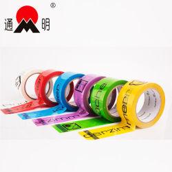 De Duidelijke Verpakkende Kleefstof Afgedrukte Verzegelende Band met hoge weerstand van de Verpakking Tape/BOPP