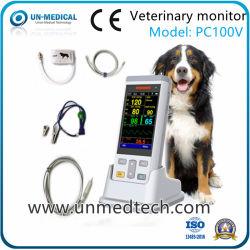 PC100V ISO 승인 수의과 PET 휴대용 산소 측정기(도크 포함)