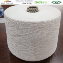 100% algodão Ne80S/1 para a tecelagem e o tricô