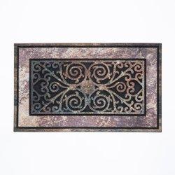 로우 프로파일 프론트 도어 매트 외부 입구용 옥외 매트 외부 입구용 바닥 문형 러그, 중부하 작업용 미끄럼 방지 고무 백