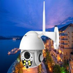HD WiFi 무선 WiFi 감시 카메라 팬 경사 2MP 통신망 CCTV 감시 플러스 옥외 속도 돔 1080P PTZ IP 사진기 Ycc365