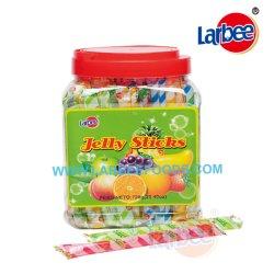 Lanches Halal 20g de fruta da geleia Stick no misturador da Larbee Candy