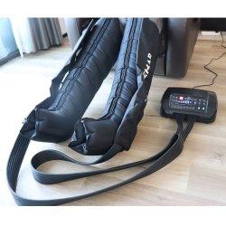 جهاز استعادة العضلات بالهواء والاسترخاء جهاز ضغط الساق بالهواء ثماني غرف أداة تدليك