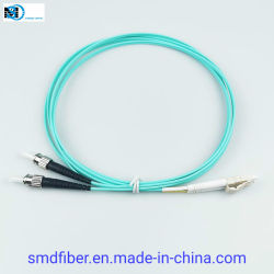 Faser-Optiksteckschnür der Faser-Optikkabel-Duplexsteckschnür-Om3