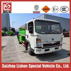 Sinotruk HOWO 3500L 연료 탱크 트럭 오일 트럭 소형 미니 트럭 재급유