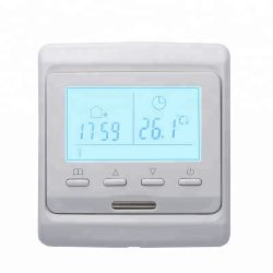 Conception personnalisée du contrôleur électronique de la température Le thermostat de chauffage au sol