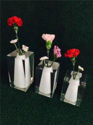 Kristall Acryl Blumenvase, Kunststoff Dekoration Vase, Plexiglas Vase