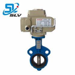 4-20mA 스테인레스 스틸 주조 철 전동식 컨트롤 버터플라이 밸브