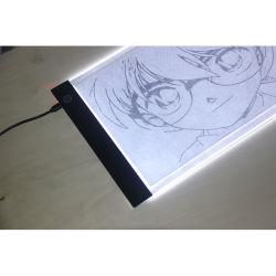 A4 스케치하는 추적을%s 가벼운 상자 화판을 추적하는 가벼운 널 Portable