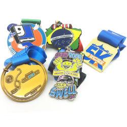Populärer neuer Zoll des Entwurfs-2019 Ihre eigene Firmenzeichen-Sport-Herausforderungs-Medaille