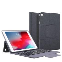9.7 Zoll-Tastatur-Kasten-Tablette PC Leder-Tastatur-Kasten für iPad 5 Deckel