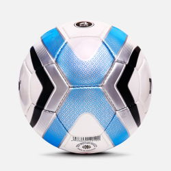 Lado cosidas deflacionados bola de futebol de couro sintético