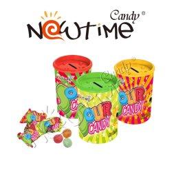 NTC17952B 28.5gの甘く多彩なフルーツの味酸っぱいキャンデーの錫