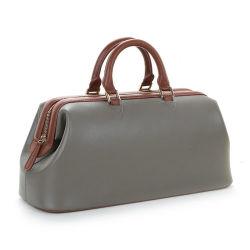 Bolsa de cuero auténtico Doctor Bag Bolsa de cuero fabricante OEM