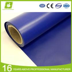 الشركة المصنعة الصين المصنع السعر الجملة مقاومة للماء البوليستر قماش تارب PVC فينيل للبيع