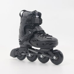 Professional Skeeleren Skates Unisex Roller Skating Shoes Slalom Sliding Black Glitter