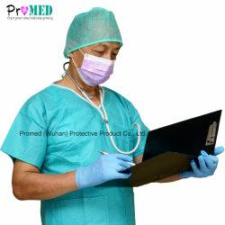Soft SMS non tissés jetables de PP de l'hôpital médicale et chirurgicale des ensembles de nettoyage
