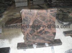 . Europese/Russische/Amerikaanse Stijl Graniet/Marble Tombstone Met Custom Design