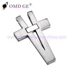 Bijoux en acier inoxydable poli pendentif Croix