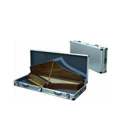 Alumínio elegante Piano Madeira caso musical (IC-6011)