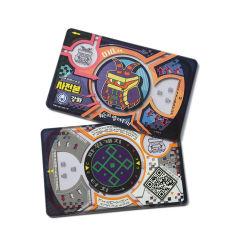 La impresión personalizada 13.56MHz/125kHz contacto RFID de plástico PVC Smart Card Tarjeta de ID.