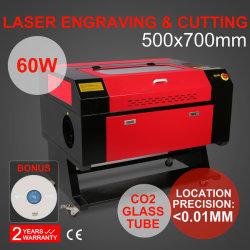Novo sistema gravador a Laser/Gravura /máquina de corte com ecrã a cores 700*500mm 60W CO2 tubo de laser com marcação Fd