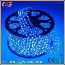 Lichte Kleurrijke Waterdichte LEIDENE SMD 5050 Van uitstekende kwaliteit van Kerstmis Lichte Warme Wit van de Strook/Wit/Blauw/Groen/Rood/Geel