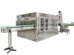 De automatische het Vullen van de Verpakking van de Drank van CDD van het Sap van het Mineraalwater van de Fles van het Glas van het Huisdier Vloeibare Verpakkende Bottelende Verzegelende Machine van de Vuller