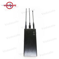bewegliche FernsteuerungsHandy-Signal-Verwürfelungsvorrichtung des hemmer-10W mit Zellen-Blocker der Batterie-8000mAh