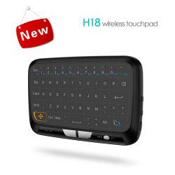 H18 Clavier avec pavé tactile en mode plein écran et clavier sans fil en mode Mini multifonction