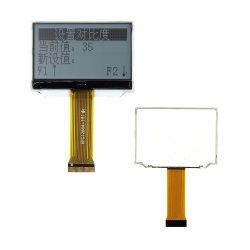 FSTN LCD COG 30 broches du module d'affichage de l'interface parallèle 8 bits écran ST7565 LCD COG 128x64