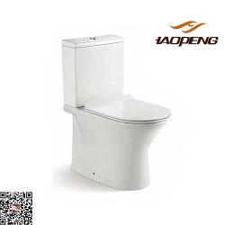 Prix bon marché de la Chine Fabricant armoire de style moderne de l'eau de toilette de porcelaine à deux pièces