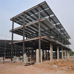 大きいスパンは鉄骨構造のフレームによって前設計された金属の商業建物を組立て式に作った