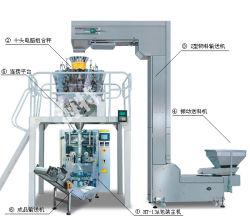 Completamente automática de los alimentos con un peso y la máquina de embalaje (HT-PF)