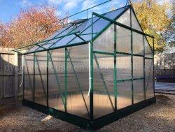 2021 multi Camera di alluminio del giardino della serra dello strato del policarbonato della portata 6mm della nuova di disegno serra del giardino per le verdure (RDGS0818-6mm)