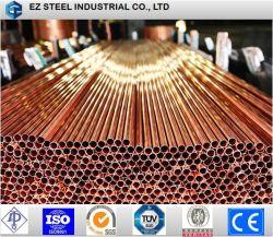 Tubo da caldeira, EN 12451, Cuzn30, 24mm de diâmetro externo do tubo de latão, Vasos de pressão, tubo de diâmetro pequeno