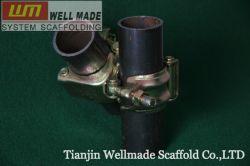 Viga de fechamento giratório duplo fixo do Acoplador da placa para tubos Andaimes