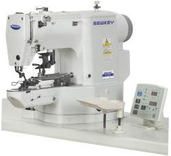 기계를 붙이는 Sk438g 직접 구동 재봉틀 박음질 전자 단추