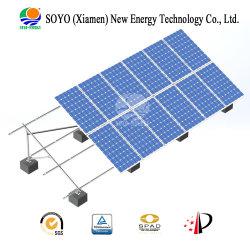 Parentesi a terra solare d'acciaio amichevole di Eco C per la centrale elettrica di PV
