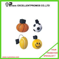 Logotipo de qualidade superior Bestselling impresso PU iô-iô Bola de estresse (EP-PS1122-1126)