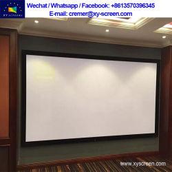 Xy sonido pantalla 3D MAX 4K fija de plata de la pantalla del Proyector para Cine en Casa sistema sin MOQ