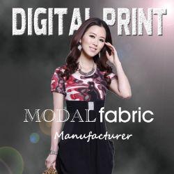 Цифровая печать модальных ткань различных размеров и моделей (M071)