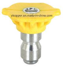 Qick Conecte o bico de pulverização com tampa de plástico amarelo