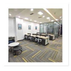 100 nylon Doorgenaaid Tapijt voor het Bureau van het Openbaar gebouw van de Luchthaven van het Hotel Woon
