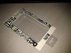 Estojo de plástico transparente para iPad2/iPad3/iPad4/Novo pago/ iPad Mini /embalagem blister Tampa/bandeja com cartão de Papel exterior impresso