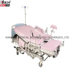 Manual ajustable multifunción de tipo resorte de gas Ldr parto Operatig Borad Recuperación de la cama con la cabeza y la barandilla