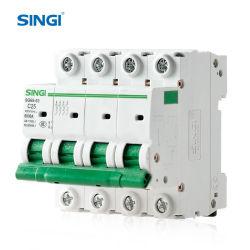 6ka Miniature Circuit Breaker MCB Sg65-63 1P - 4P AC DC CE CB 승인