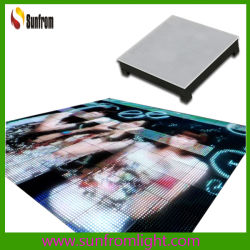 고휘도 P25 LED 비디오 댄스 플로어 스크린 디스플레이 IP65